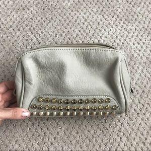 Taupe & Gold Studded Small Bag